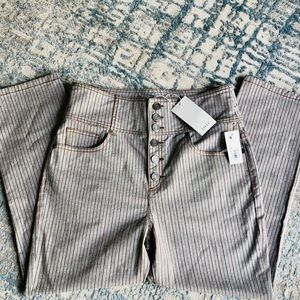 Joie pin striped pants Laurelle style flare pants